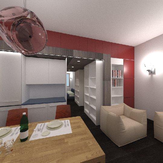 Portfolio fotografia for Miniappartamento design